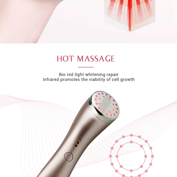 Photon Skin Care Machine 42 Degrees Celsius Warm Led Light Therapy Face Massager