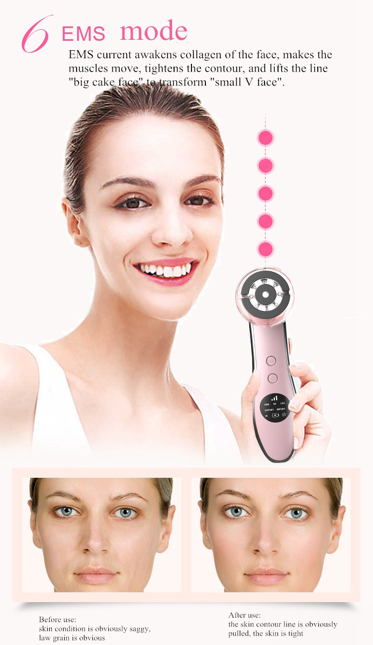 Six In One High Frequency Facial Machine Facial Beauty Machine