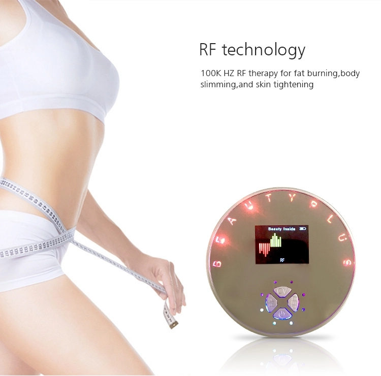 Ultrasonic Led Skin Care Body Slimming Device 4 In 1 Weight Lose Body Massager For Led Home Use Beauty Device