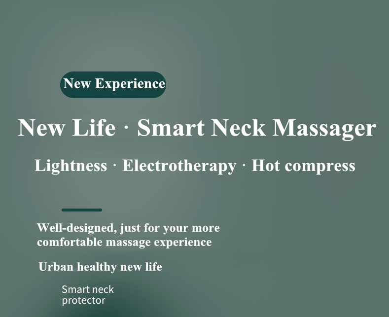 2020 The Best Smart Massager For Back And Neck 6 Modes Wireless Intelligent Neck Massager