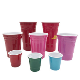 32 Ounce Red Reusable Melamine Beverage Cup