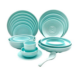 Unique Shape Melamine Dinner Tablewares For Home Or Restaurant Supply Use
