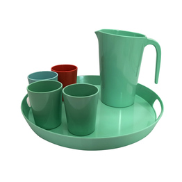 Durable Melamine Bowl Pitcher Drinking Jug For Your Picnic Garden Party
