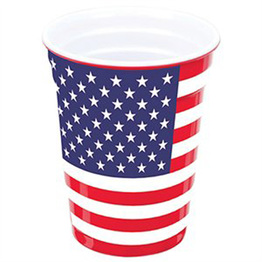 Durable Hard Plastic Custom Print 16 Oz Party Cups