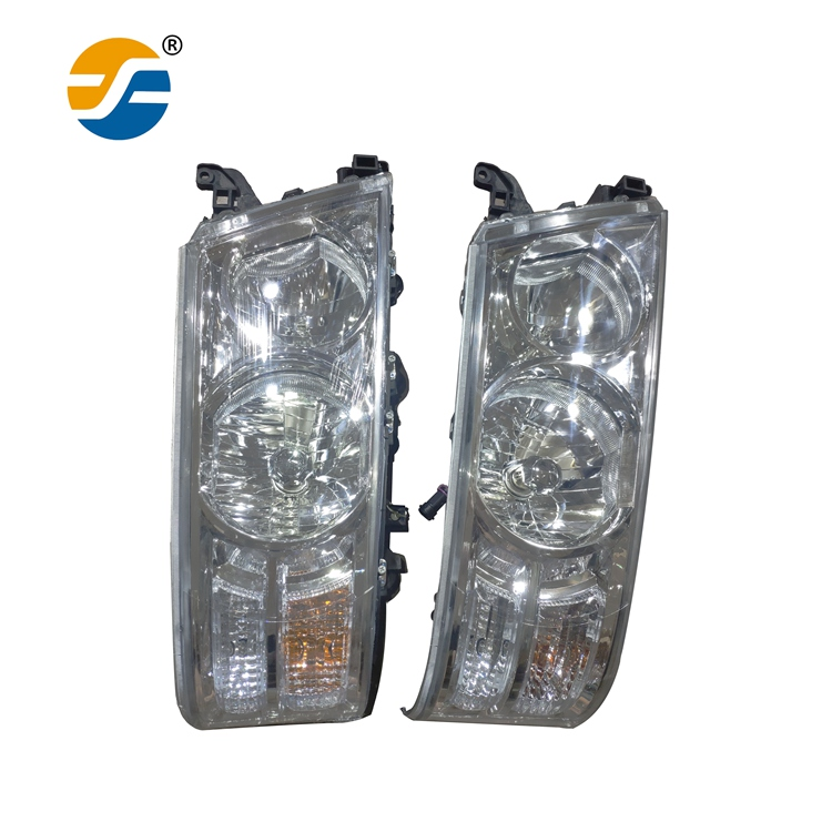 Powerful Perfect Shape Combination headlight LED head lamp for Hiace bus parts