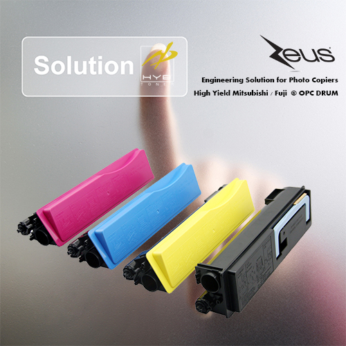 HYB TK540 Toner Cartridge For Kyocera Mita Toner Cartridge