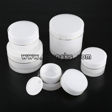 Empty Colored Acrylic Cosmetic Containers
