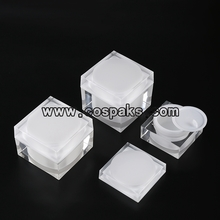 Empty Acrylic Containers for Facial Cream