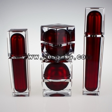 Luxury Square Shape Cosmetic Container Set