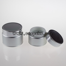 Cosmetic Packaging Aluminum Jar Silver