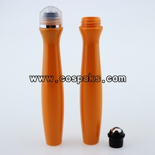Colored Plastic Roll on Bottles 15ml