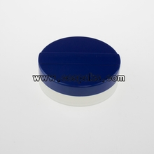 Empty Mineral Powder Case 15ml with Blue Plastic Cover