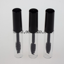Clear Bottle and Black Cover Mascara Packaging 5ml