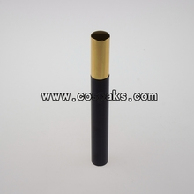 Black Mascara Empty Tube with Gold Lids 8ml