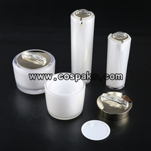 Black or White Acrylic Cosmetic Containers  Series