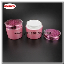 150g Crystal Pink Empty Hair Mask Jar
