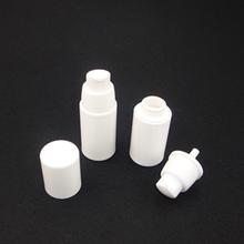 Wholesale White Airless Plastic Cosmetic Pump Packaging