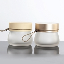 100g Glass Jar Frosted Cosmetic Packaging
