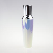 New Style Glass Bottle Cosmetic in Pear White