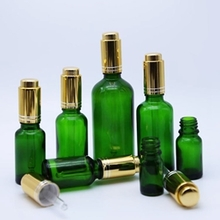 30ml Green Glass Fosted Dropper Bottle