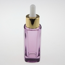 High-grade Glass Essential Oil Dropper Bottle in Square 30ml