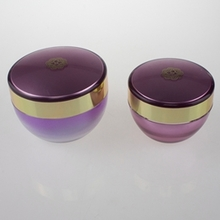 Acrylic Containers in Inverted Cone Gradient Purple