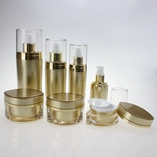 Acrylic Lotion Packaging & Cosmetic Cream Jars