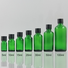 100ml Green Glass Essential Oil Bottle