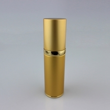 All-inclusive Aluminum Empty Airless Pump bottle in Gold