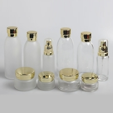 Cosmetic wholesale Clear Shoulder Lotion Pump Bottle