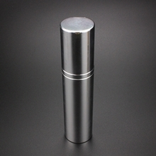 All-inclusive Aluminum Airless Pump Bottles in Silver