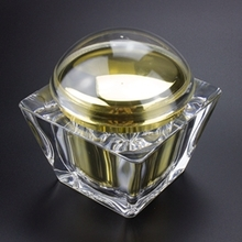 Luxury Large Capacity Plastic Cosmetic Jars Wholesale