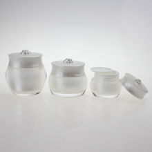 White Cosmetic Plastic Jars Wholesale for Cream