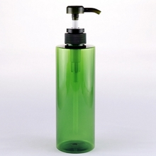 500ml Big Capacity Green PET Lotion Pump Bottle for Sale