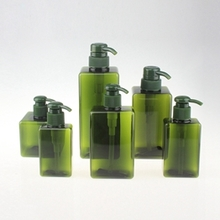 Multi-size Square PET Lotion Pump Bottle for Cosmetic