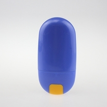 Wholesale Cosmetic PET Cream Bottle in Blue 50ml