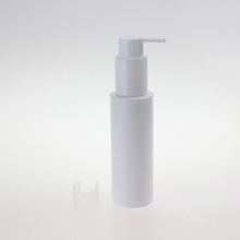 Wholesale White PET Lotion Pump Bottle 100ml 150ml 200ml