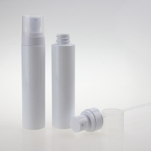 Wholesale Cosmetic PET Spray Pump Bottle with White Head