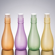 Wholesale Plastic Colored Conical Shape Lotion Bottle