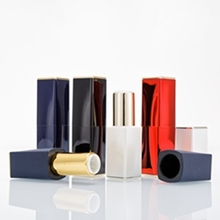 High-end New Style Square Aluminum Lip Stick Tube