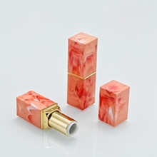 Manufacturers Sell Square Marbled Empty Lipstick Tube