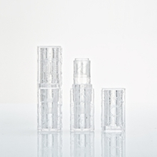 Wholesale Cosmetic Square Empty Lip Stick Tube in Clear