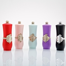 High-end Handmade Court Small Hole Beautiful Lipstick Tube