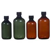500ML Large Capacity Colored PET Lotion Bottle