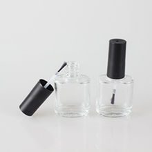 Cosmetic Clear Glass Nail Polish Bottle 15ml