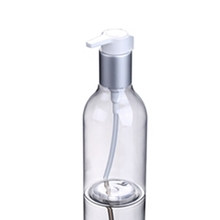 Round Clear Plastic PET Lotion Pump Bottle 200ml