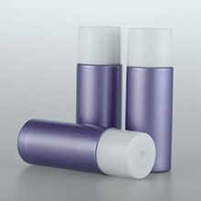 18ml Wholesale  Purple and Green PET Lotion Bottle
