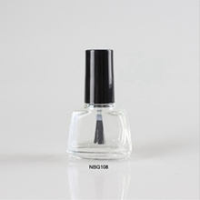 Wholesale 5ml Clear Multi-shaped Glass Nail Polish Bottle