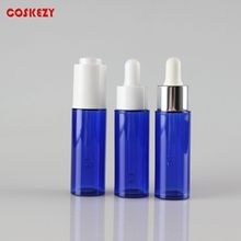 Blue Round Plastic Dropper Bottle for Sale