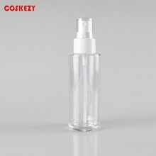 100ml Clear Empty PET Spray Pump Bottle